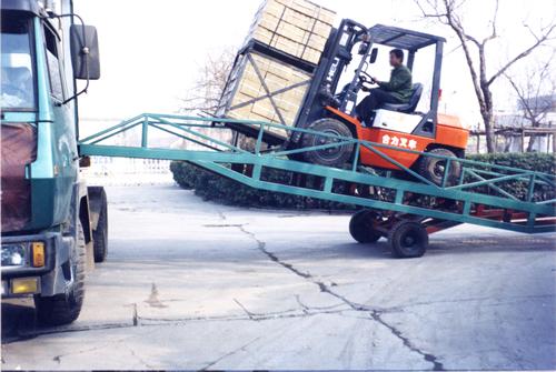 移动式液压登车桥应用案例